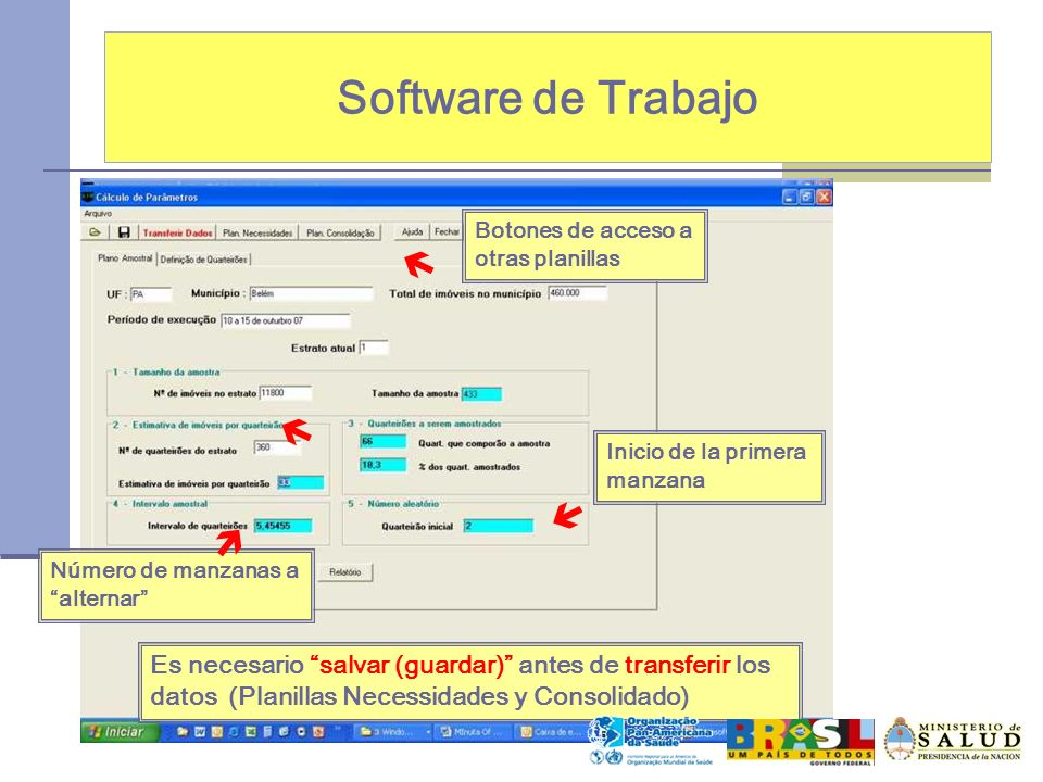Software de Trabajo    