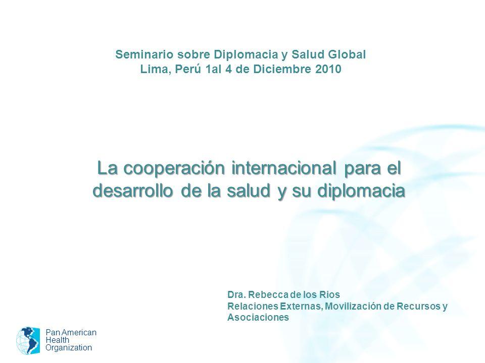 Seminario sobre Diplomacia y Salud Global