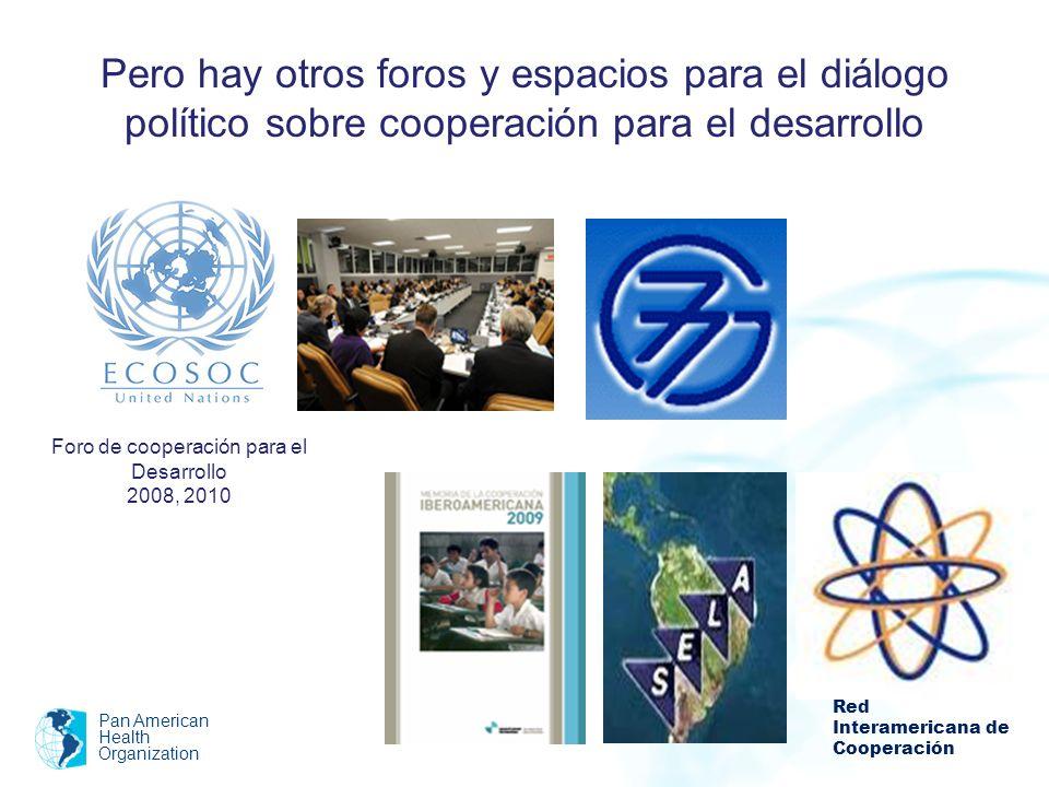 Foro de cooperación para el Desarrollo