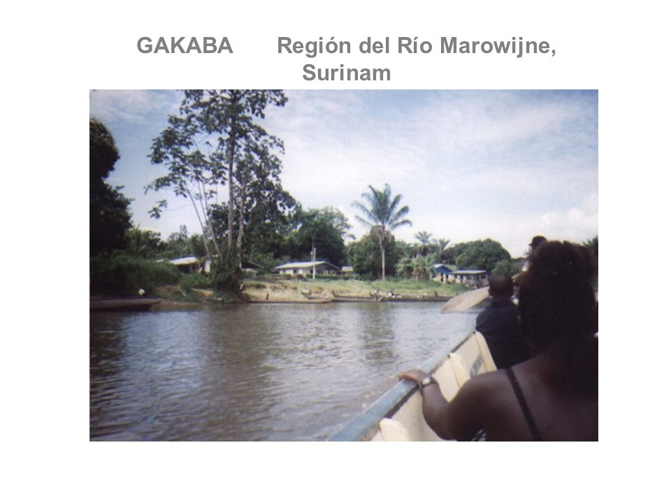 GAKABA Región del Río Marowijne, Surinam