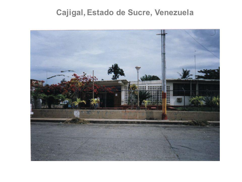 Cajigal, Estado de Sucre, Venezuela