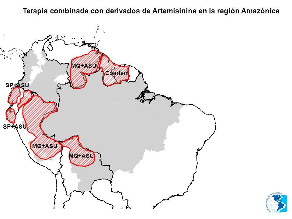 Terapia combinada con derivados de Artemisinina en la región Amazónica