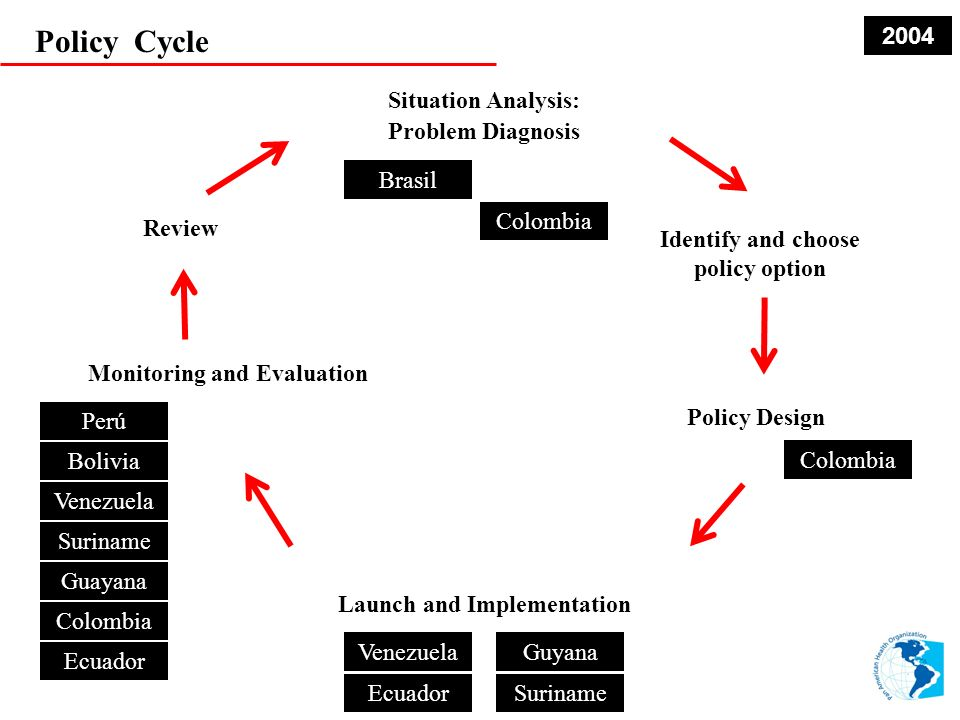 Policy Cycle 2004 Situation Analysis: Problem Diagnosis Brasil