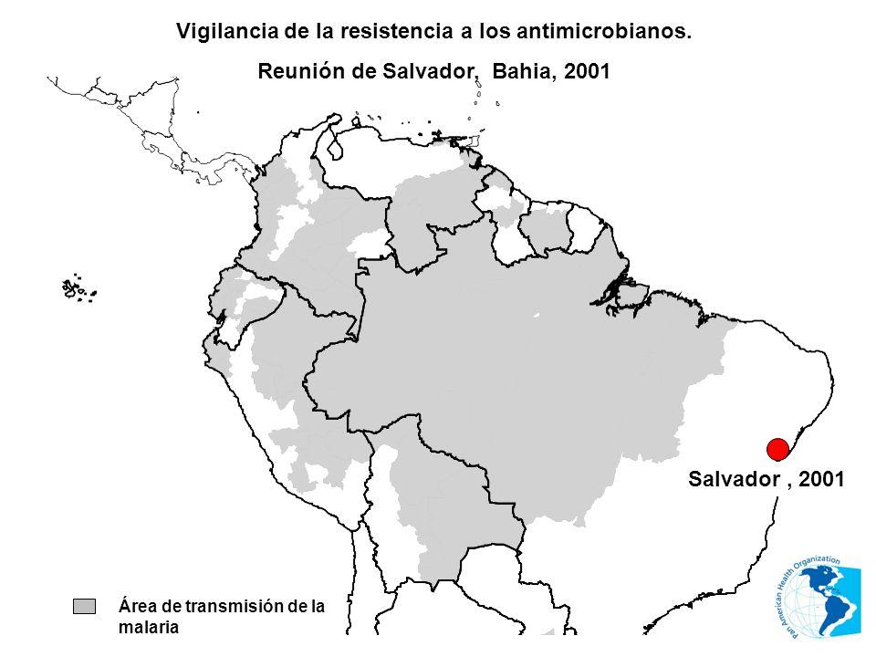 Vigilancia de la resistencia a los antimicrobianos.