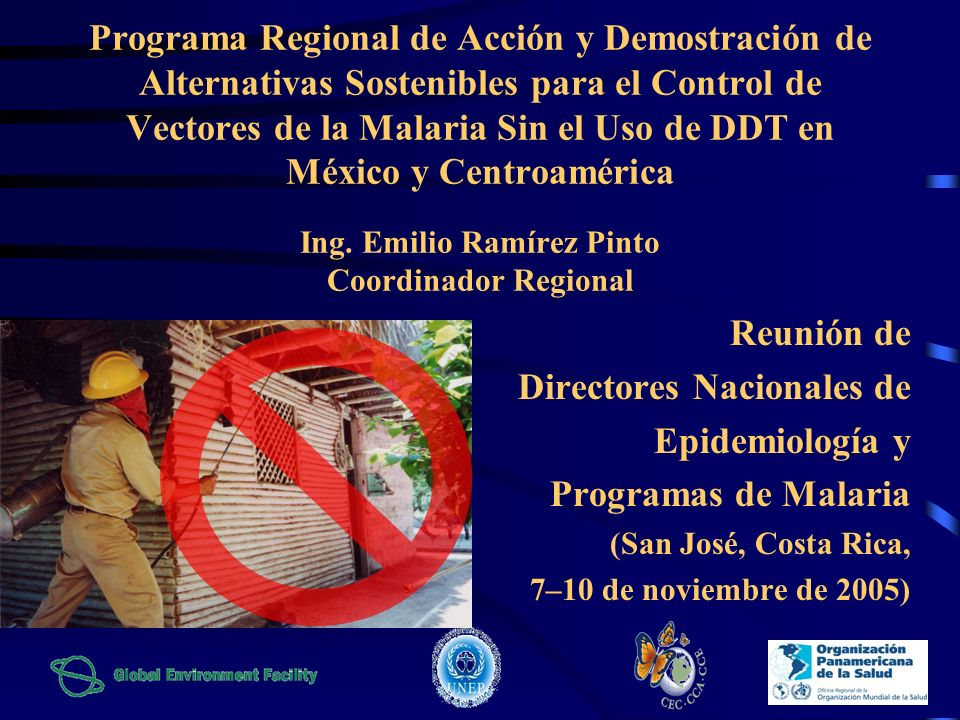 Directores Nacionales de Epidemiología y Programas de Malaria