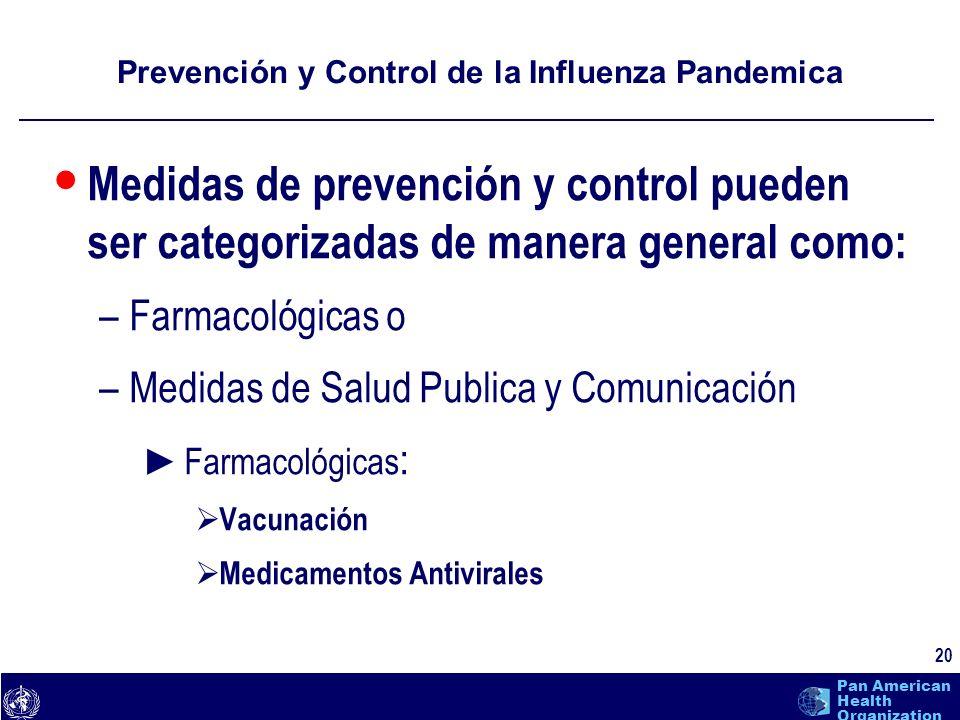 Prevención y Control de la Influenza Pandemica