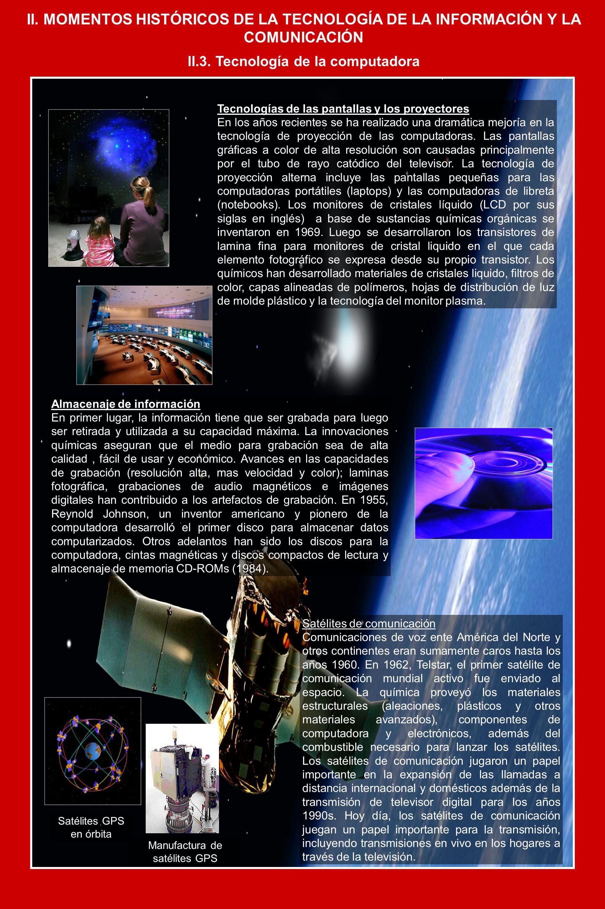 II.3. Tecnología de la computadora