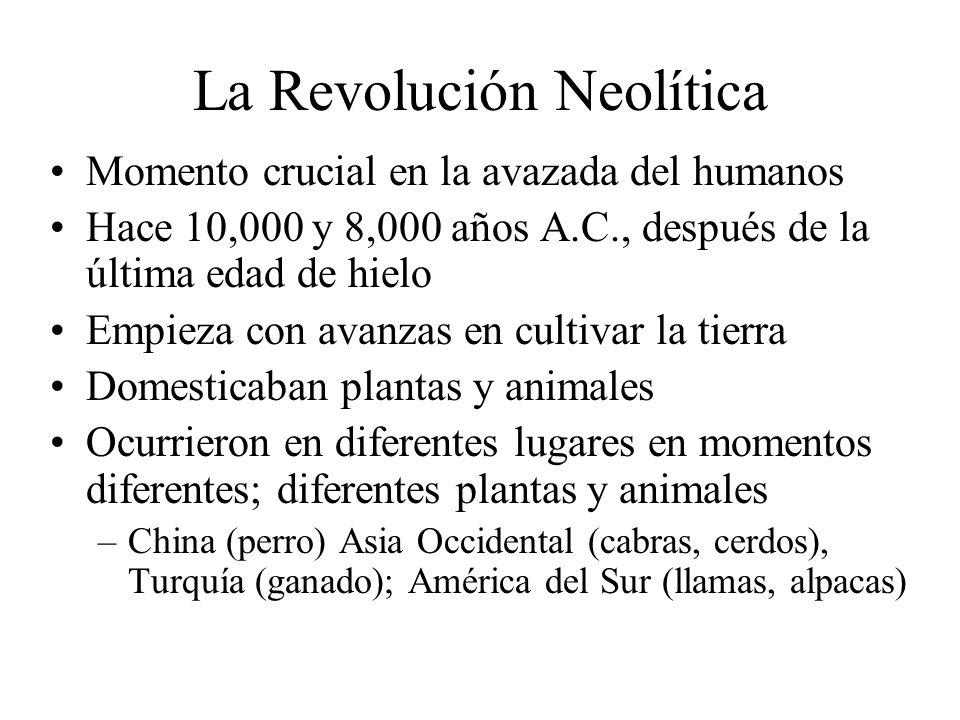La Revolución Neolítica