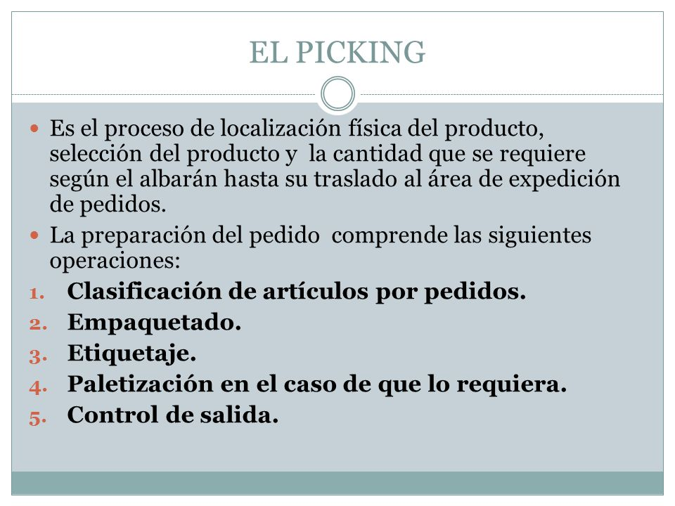 EL PICKING