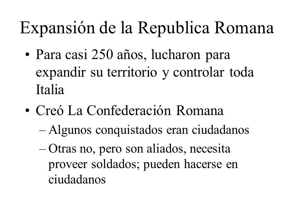 Expansión de la Republica Romana