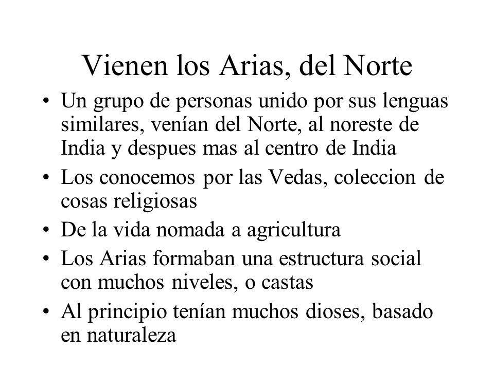 Vienen los Arias, del Norte