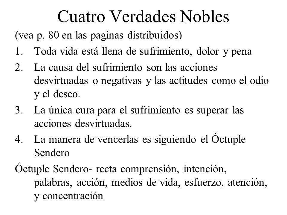 Cuatro Verdades Nobles