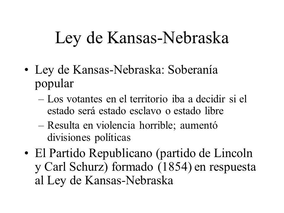 Ley de Kansas-Nebraska