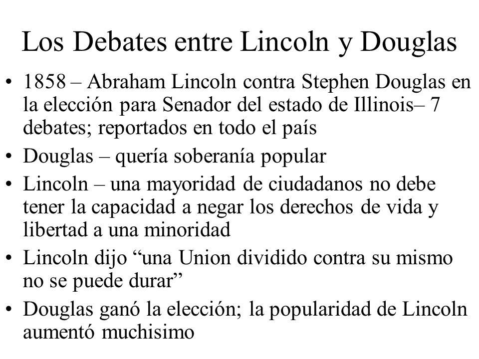 Los Debates entre Lincoln y Douglas
