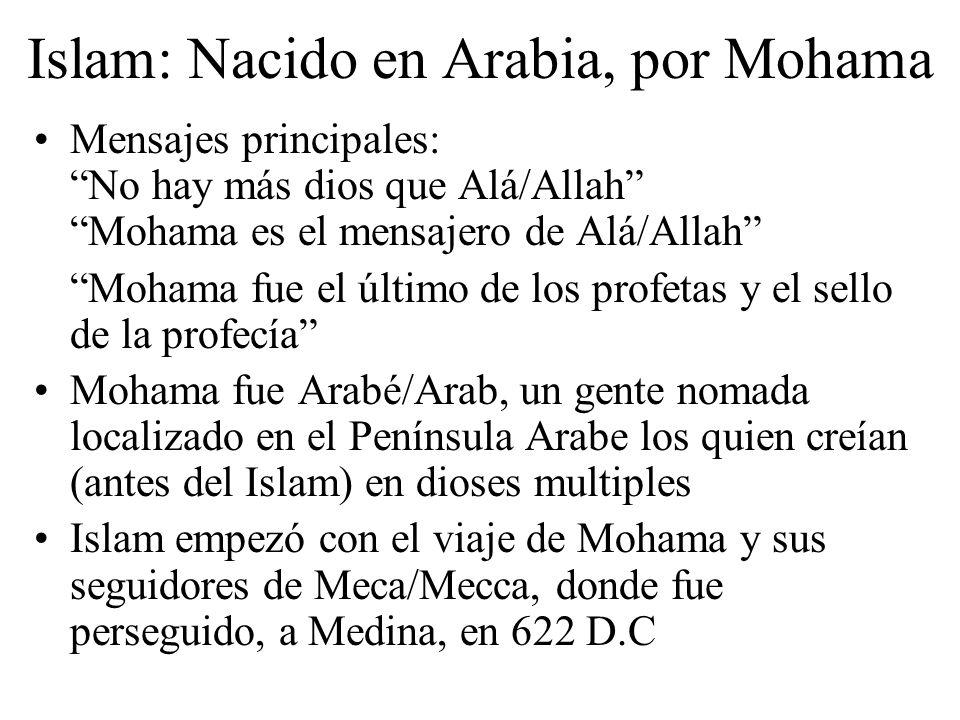 Islam: Nacido en Arabia, por Mohama