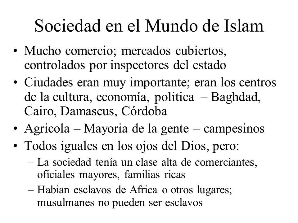 Sociedad en el Mundo de Islam
