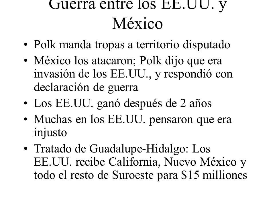 Guerra entre los EE.UU. y México