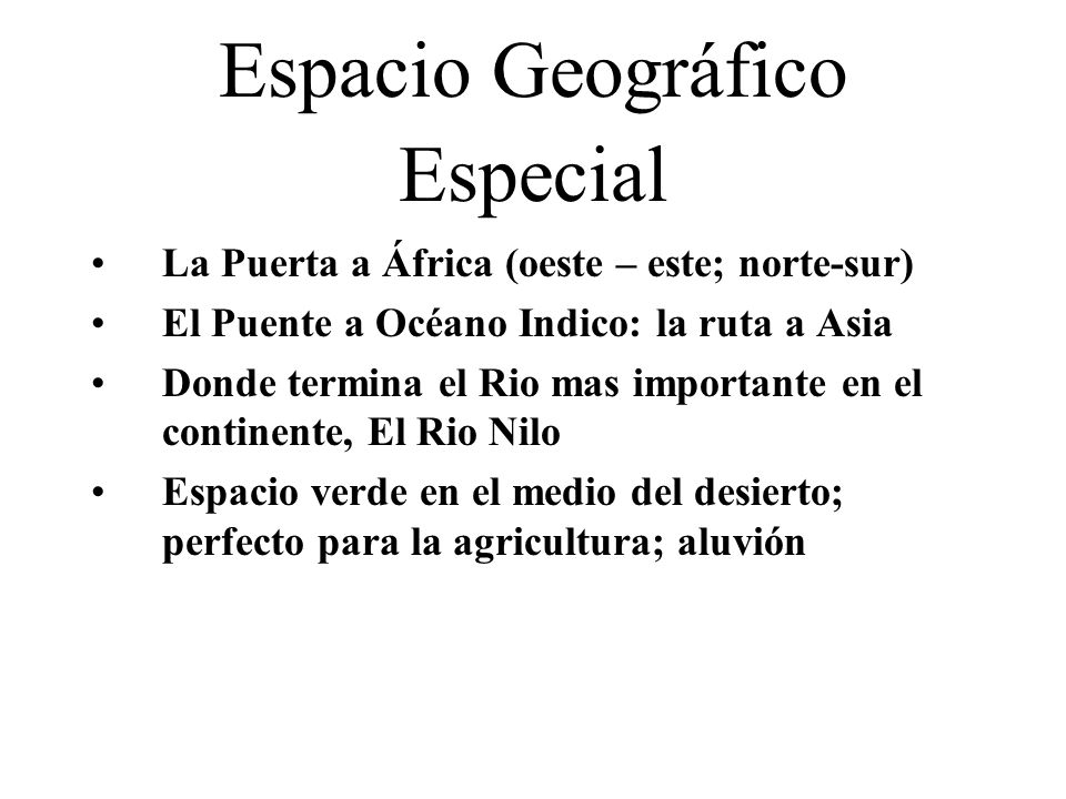 Espacio Geográfico Especial