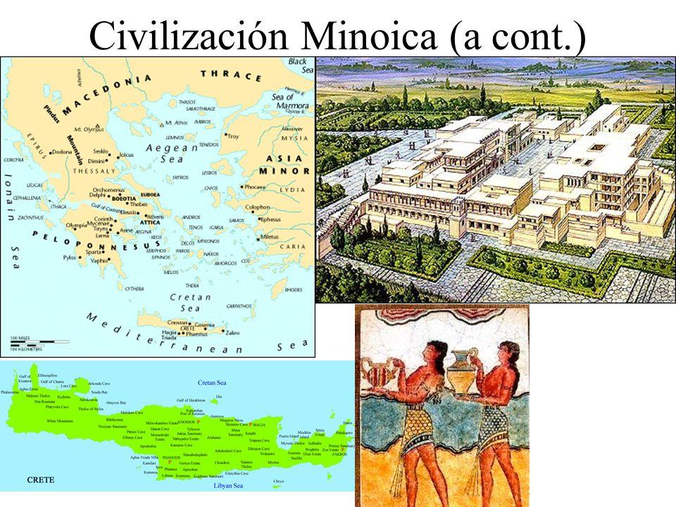 Civilización Minoica (a cont.)