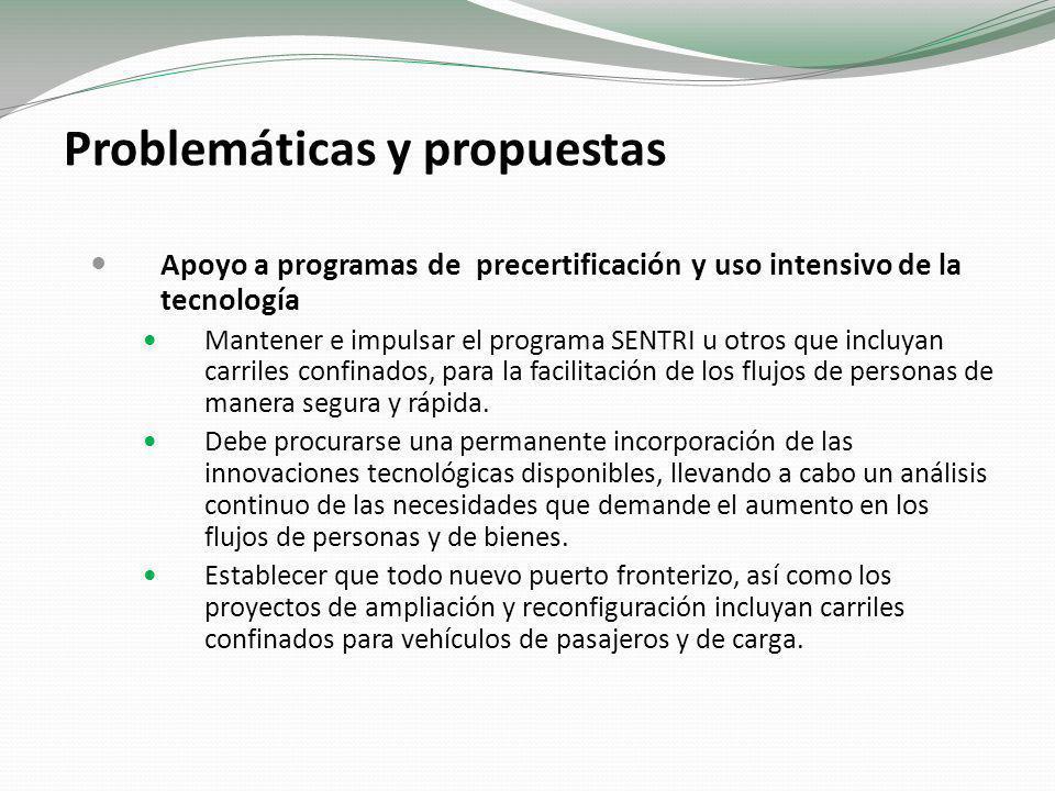 Problemáticas y propuestas