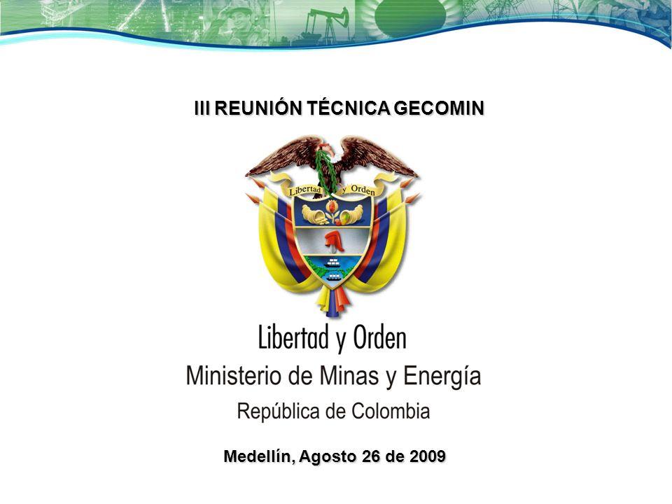 III REUNIÓN TÉCNICA GECOMIN