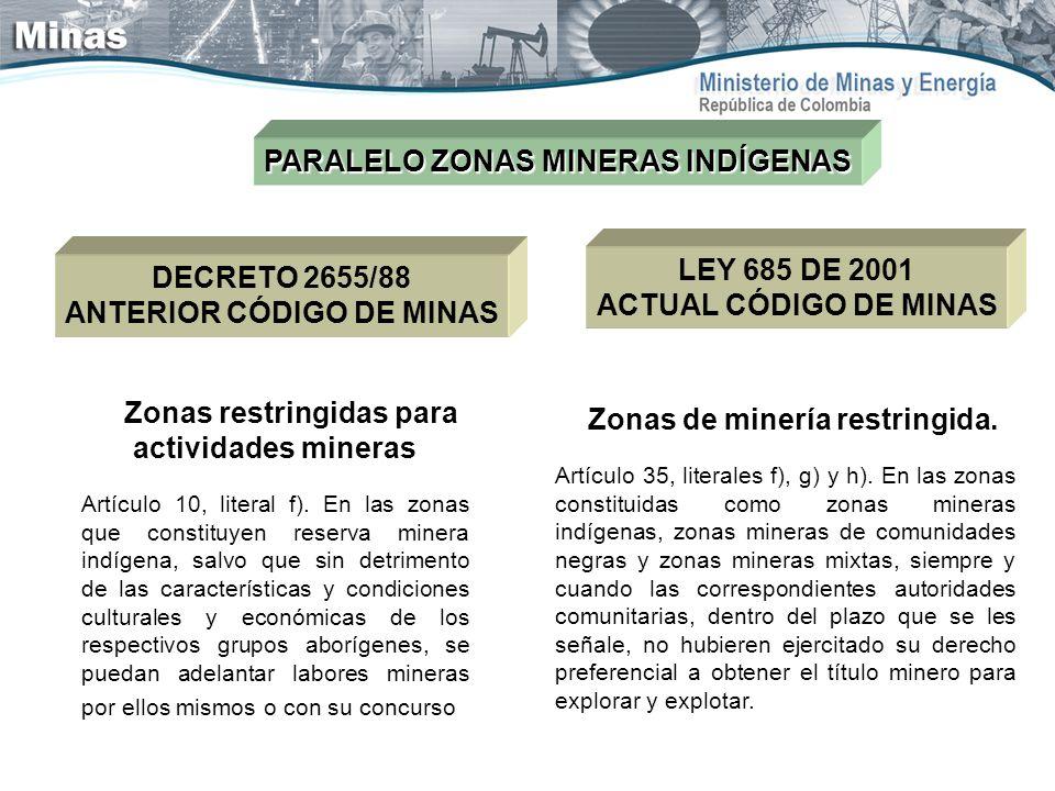 PARALELO ZONAS MINERAS INDÍGENAS
