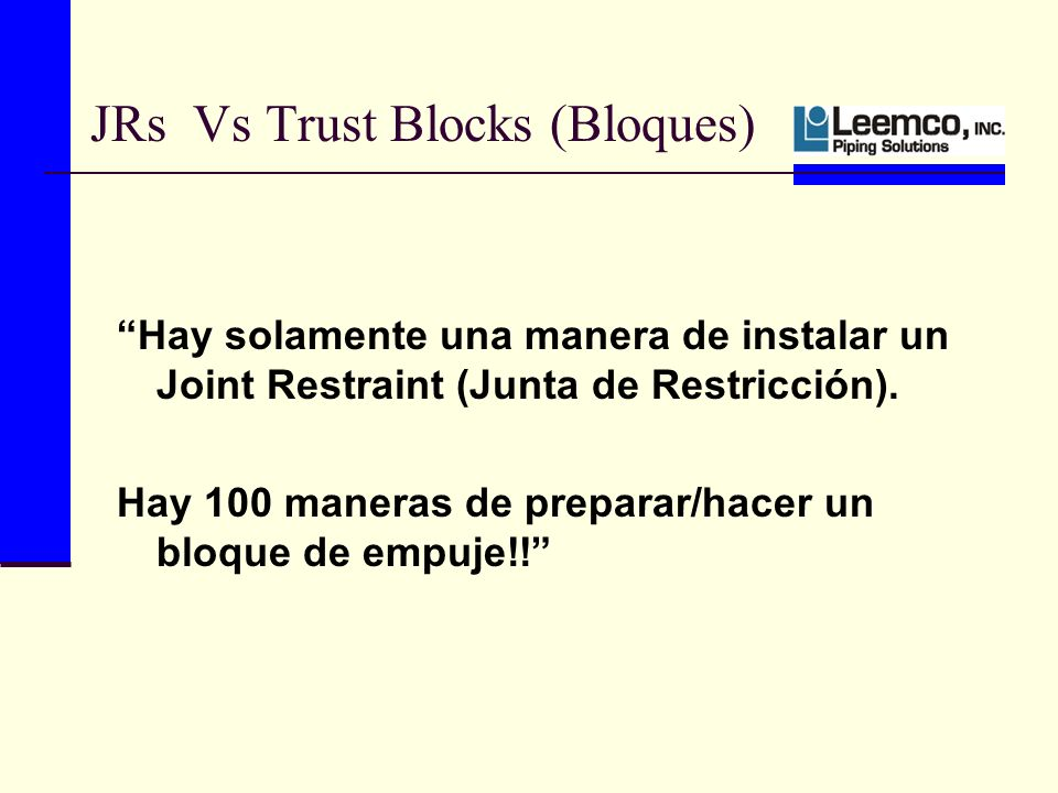 JRs Vs Trust Blocks (Bloques)
