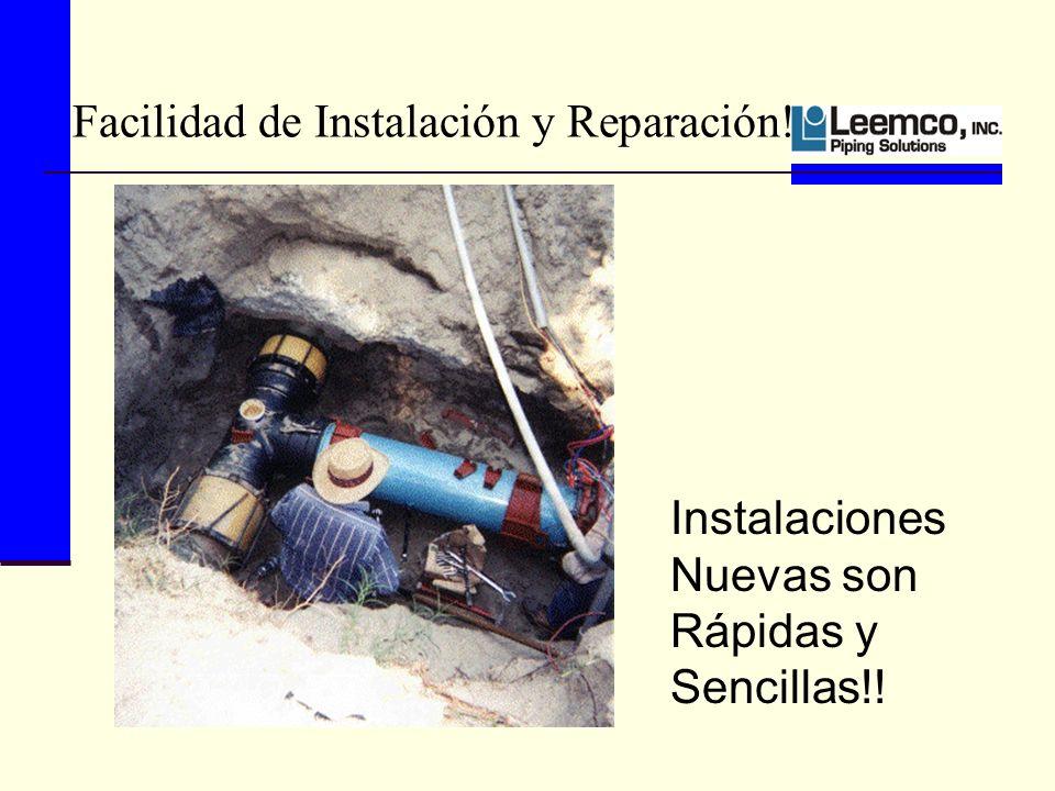 Facilidad de Instalación y Reparación!