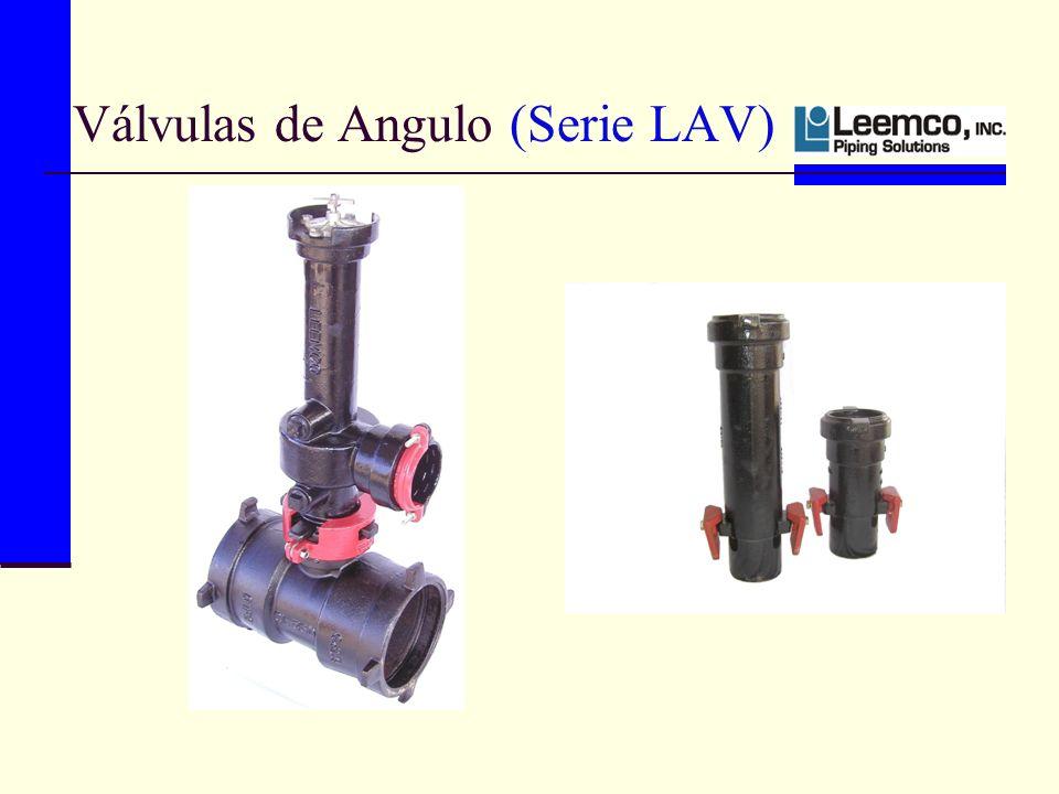 Válvulas de Angulo (Serie LAV)