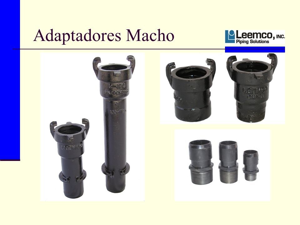 Adaptadores Macho