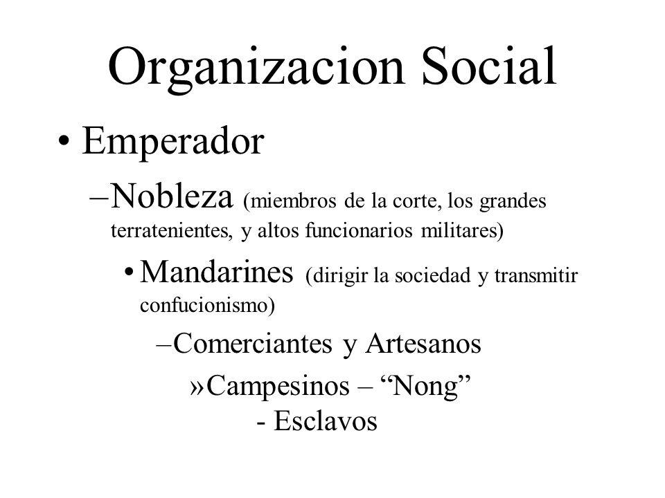 Organizacion Social Emperador
