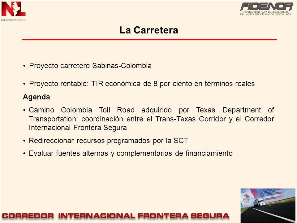 La Carretera Proyecto carretero Sabinas-Colombia