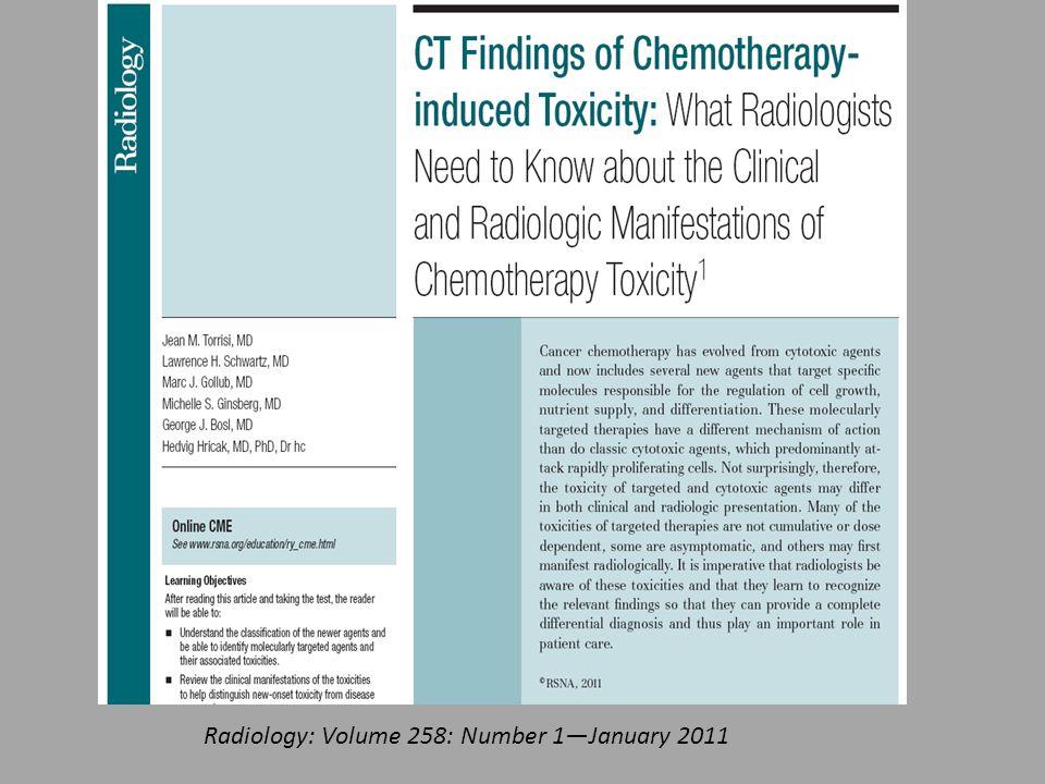 Radiology: Volume 258: Number 1—January 2011