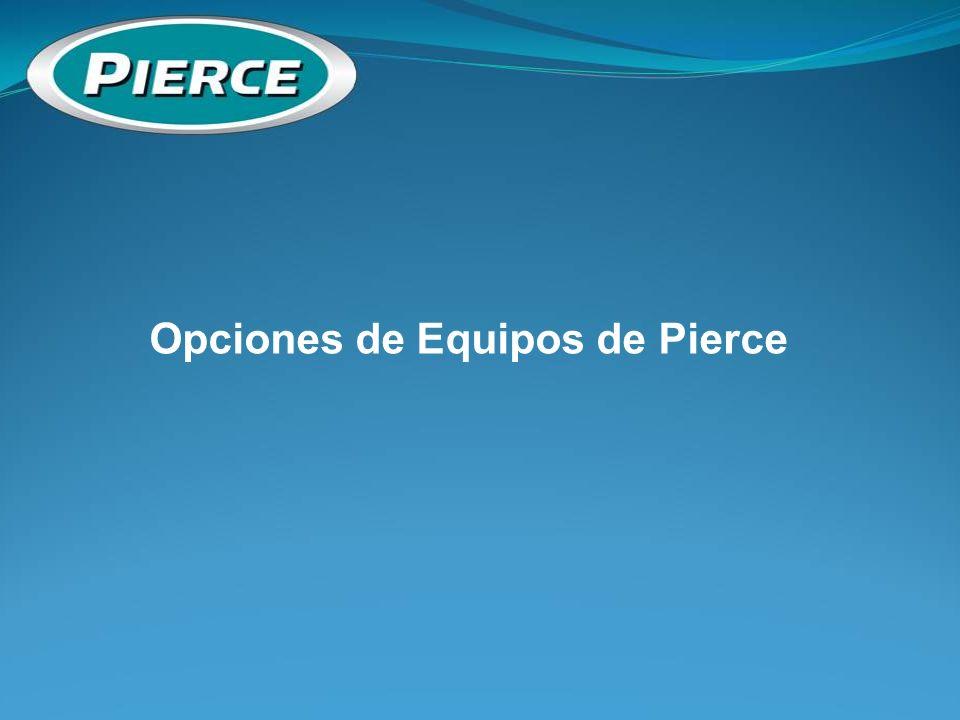 Opciones de Equipos de Pierce