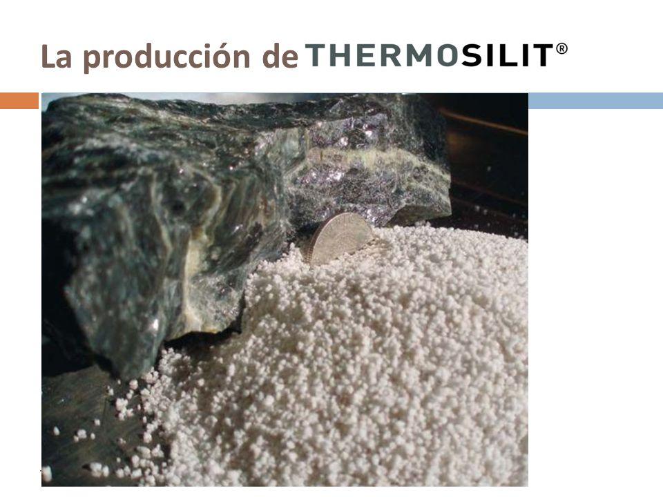 La producción de Enero 2009 Thermosilit – La nueva dimensión en aislamiento mineral