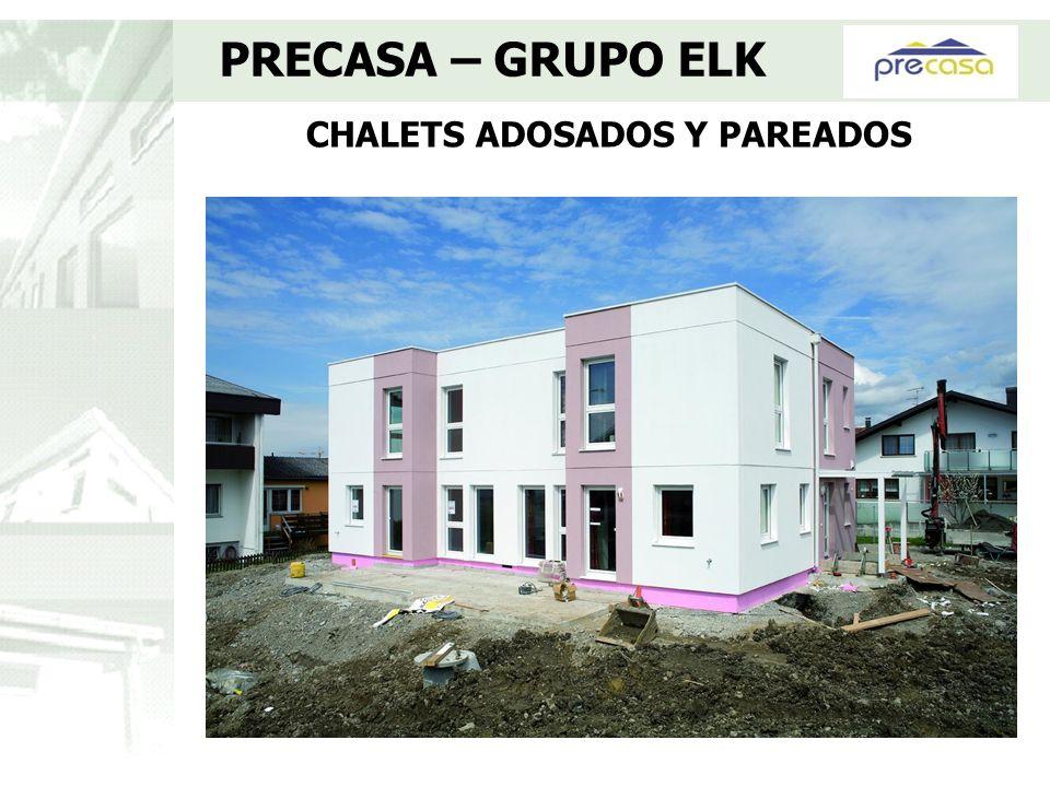 CHALETS ADOSADOS Y PAREADOS