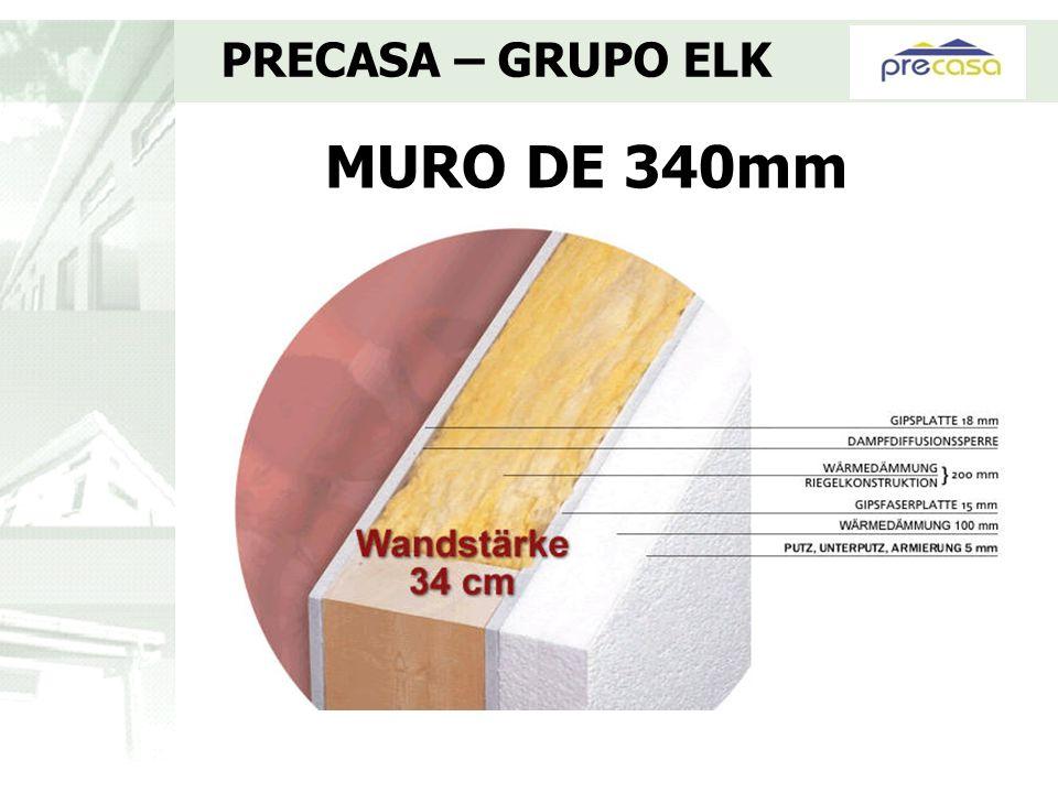 PRECASA – GRUPO ELK MURO DE 340mm
