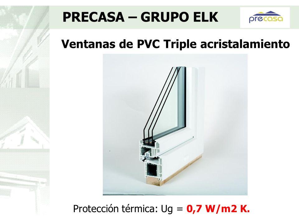 Ventanas de PVC Triple acristalamiento