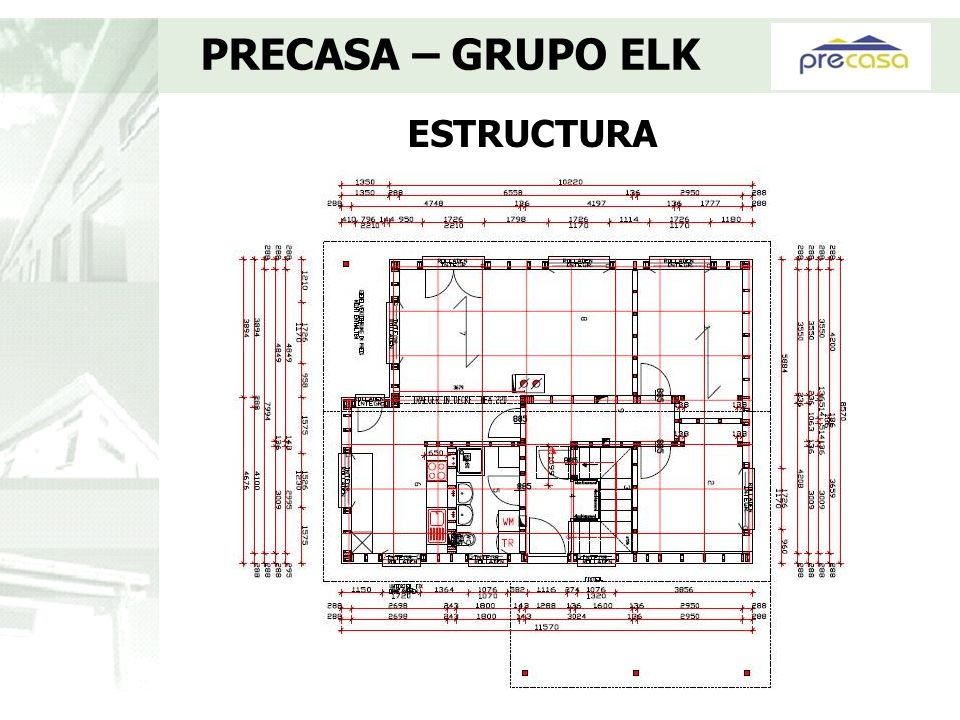 PRECASA – GRUPO ELK ESTRUCTURA