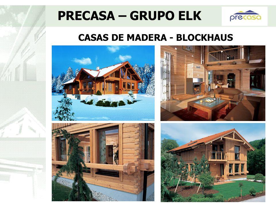 CASAS DE MADERA - BLOCKHAUS