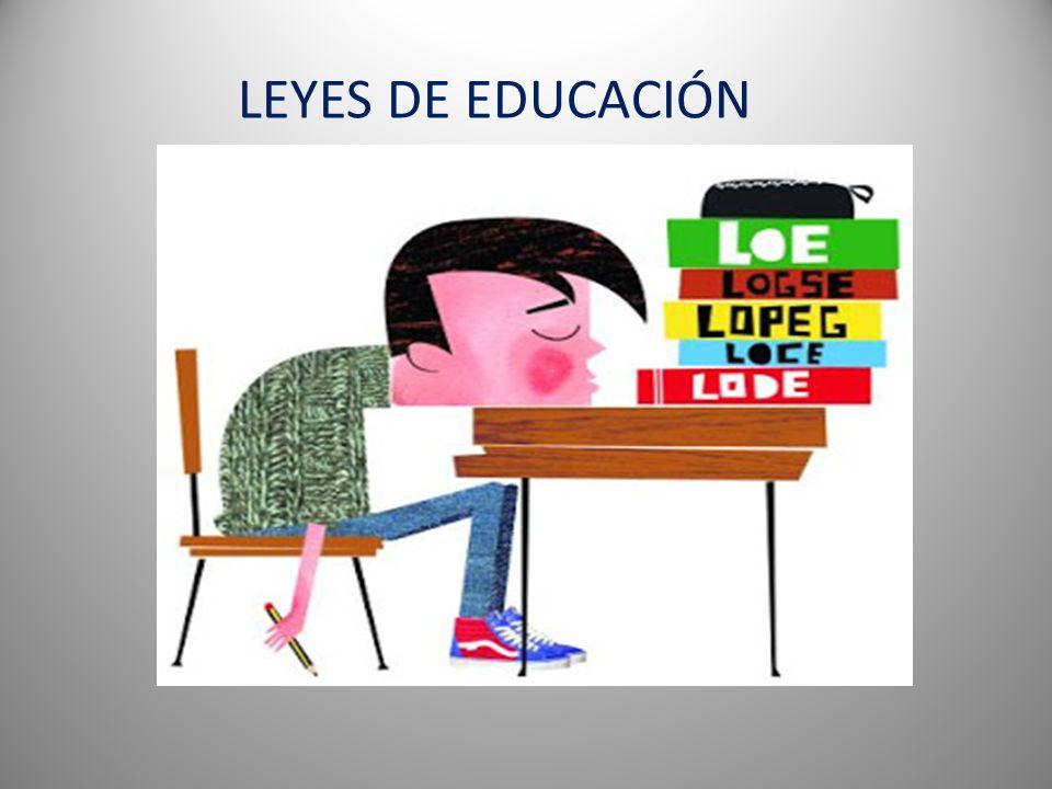 LEYES DE EDUCACIÓN