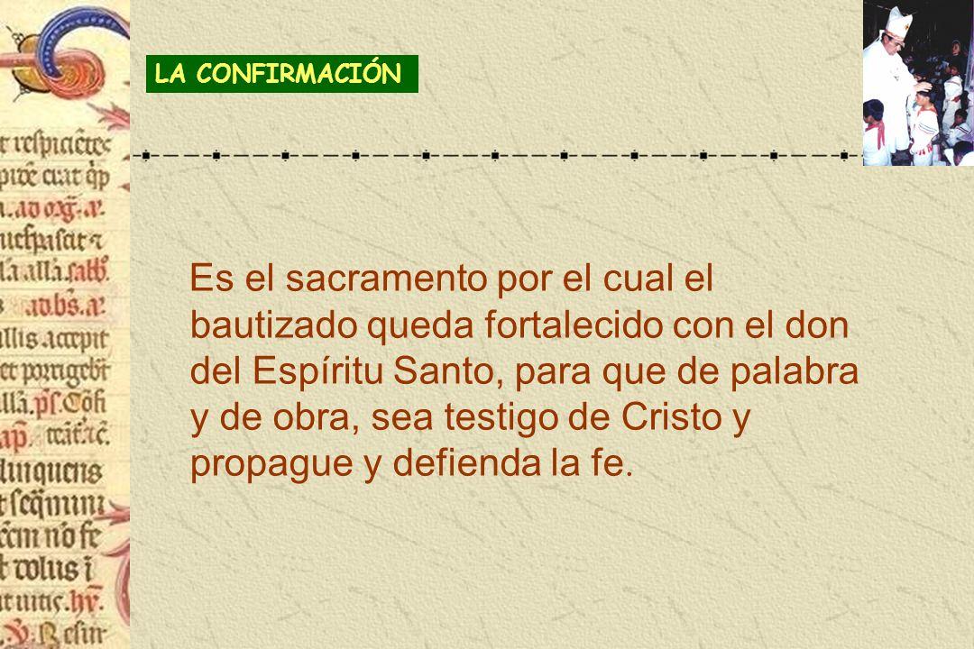 LA CONFIRMACIÓN