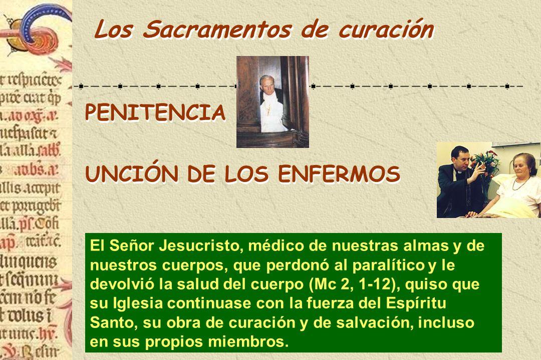 Los Sacramentos de curación