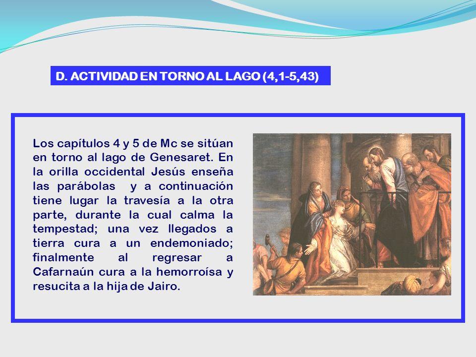 D. ACTIVIDAD EN TORNO AL LAGO (4,1-5,43)