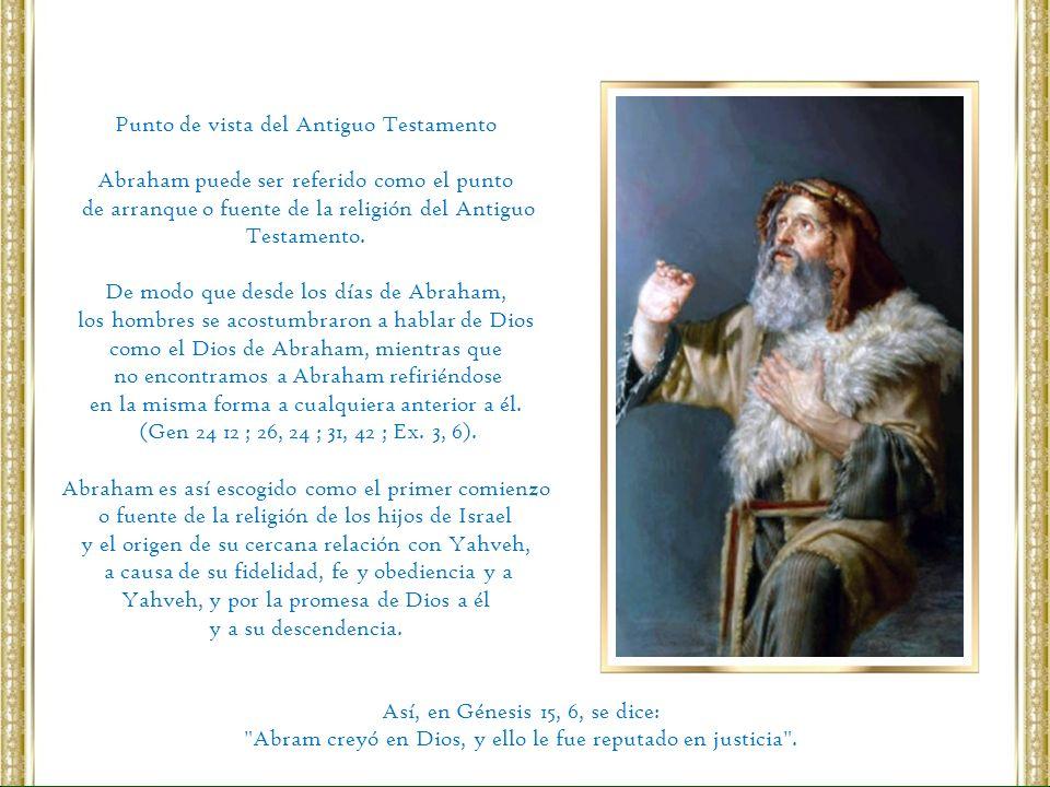Punto de vista del Antiguo Testamento