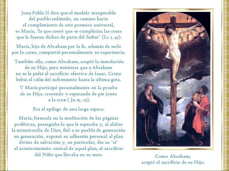 Juna Pablo II dice que el modelo insuperable