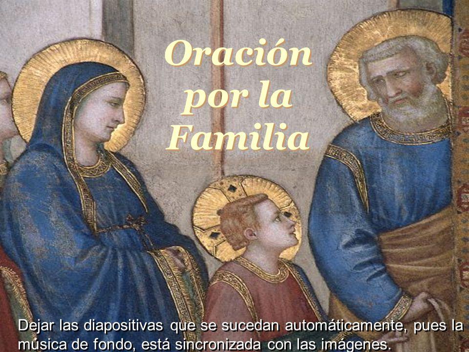 Oración por la FamiliaOração pela Familia.