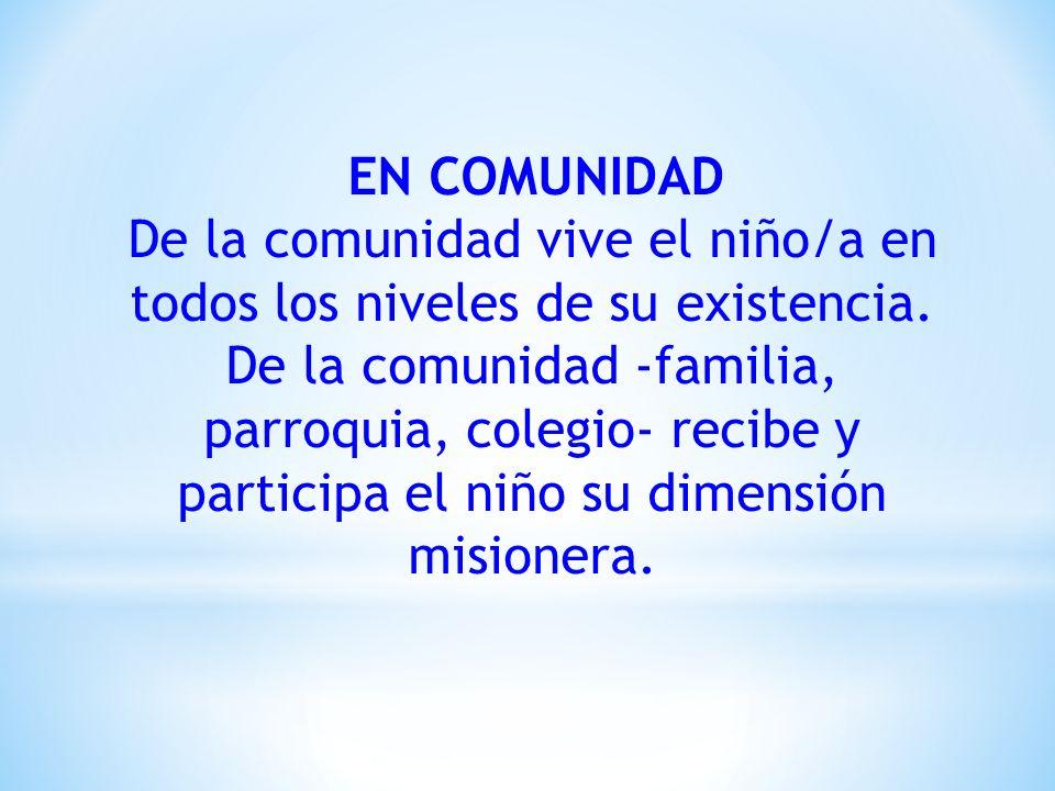 EN COMUNIDAD