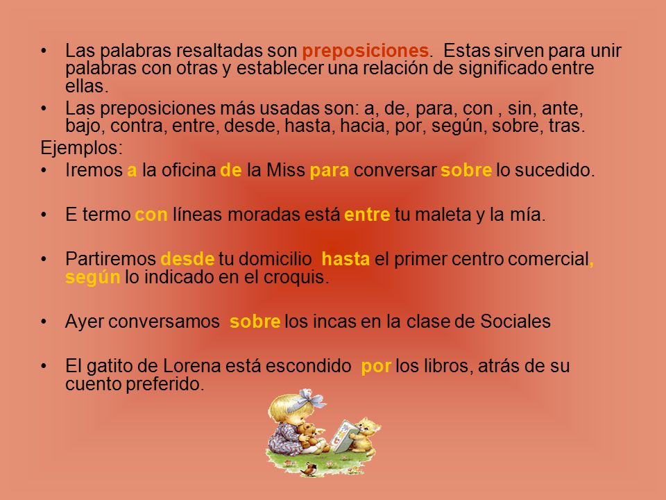 Material de estudio de la unidad n 5 conjunciones for Cuales son las caracteristicas de la oficina
