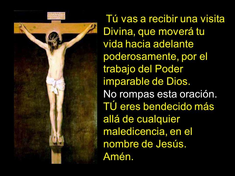 Tú vas a recibir una visita Divina, que moverá tu vida hacia adelante poderosamente, por el trabajo del Poder imparable de Dios.